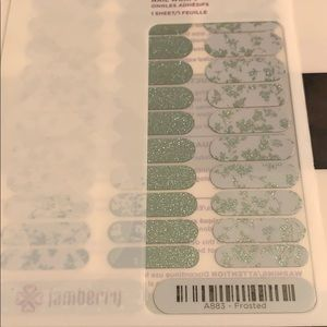 Jamberry wrap- Frosted